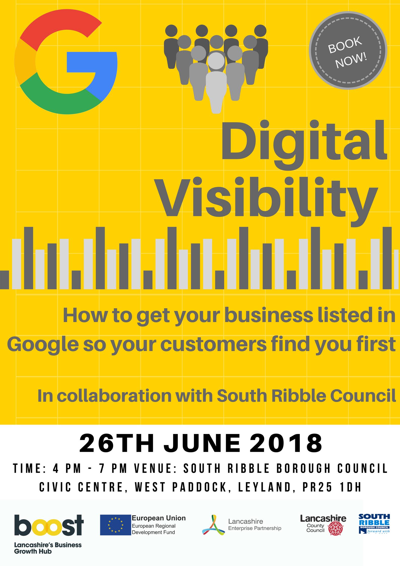 Digital Visibility Masterclass 26th June